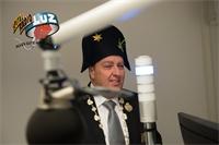 der neue Zunftmeister der Weyzunft im Radio Interview auf Spitalradio LuZ