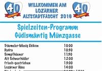 Guggenmusig Auftritte aktuelles Programm in der Münzgasse